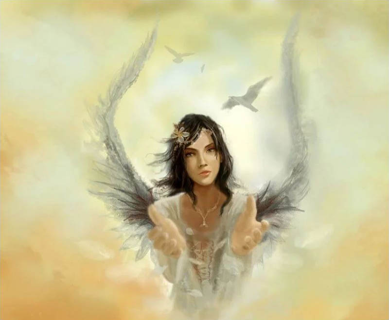 Expresiones de los ángeles