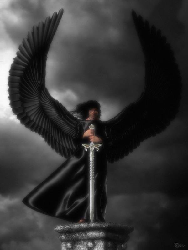 Angel con Espada